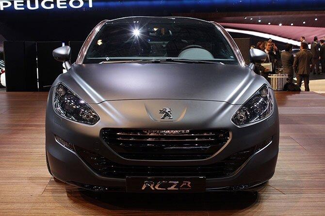 Последний концепт французского автопроизводителя – обновленный Peugeot RCZ.