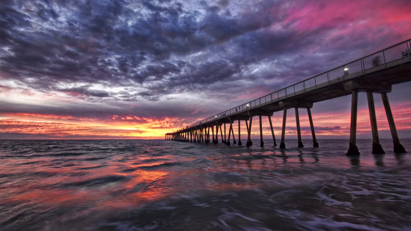 Океан. Калифорния.