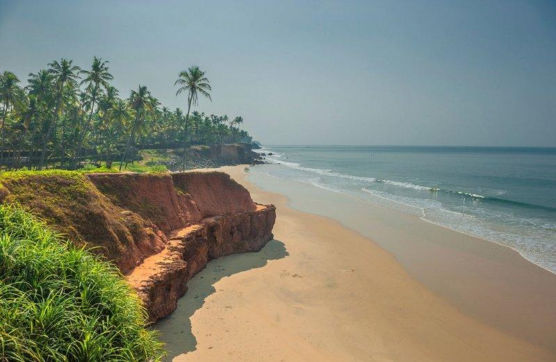 Отдых в Индии. Керала - земля аюрведы | Colibri Wellness Керала, пляж Варкала ...