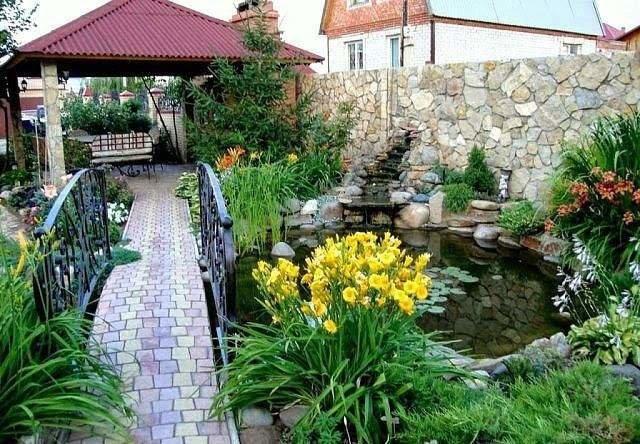 Яркие оттенки и цветы ландшафтного дизайна.
