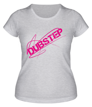 Женская футболка Dubstep