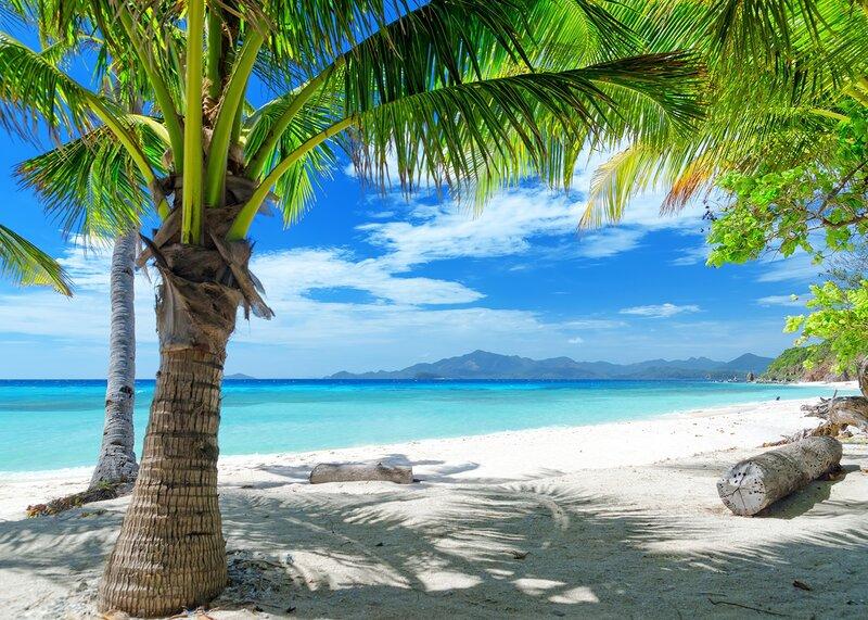 Пляжный отдых на Филиппинах.