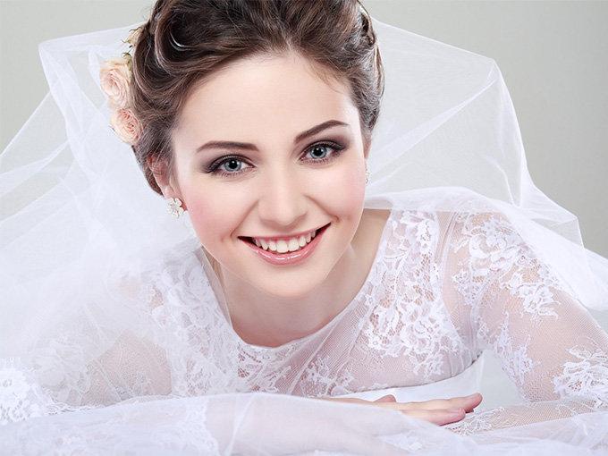 Свадебный макияж своими руками: как сделать | Wedding.ua Свадебный макияж для брюнетки