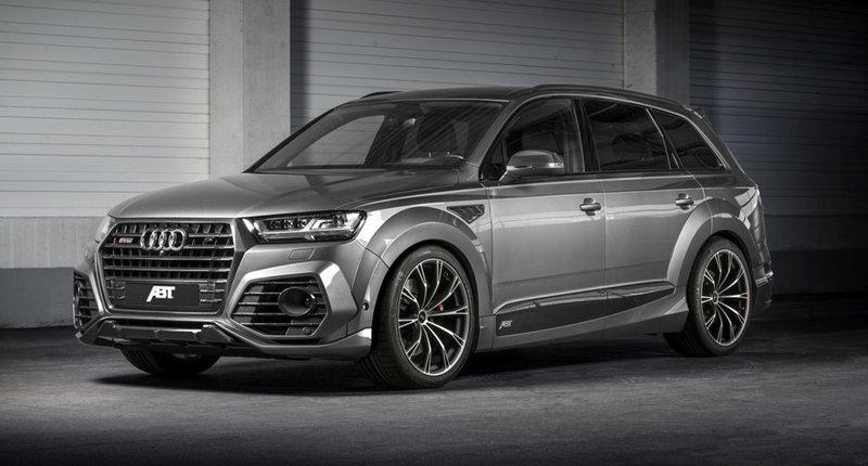 Обвес ABT на Audi Q7 2017 года выпуска.