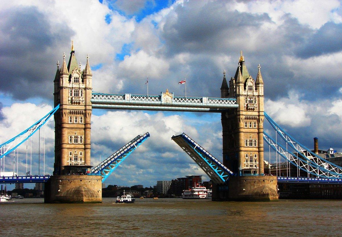карточках, выполненных мост в великобритании на английском частью оберните тонкую