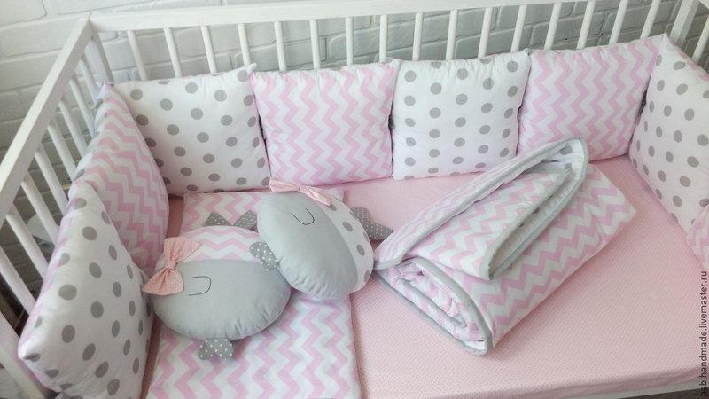 Шьем бортики в детскую кроватку своими руками фото 774