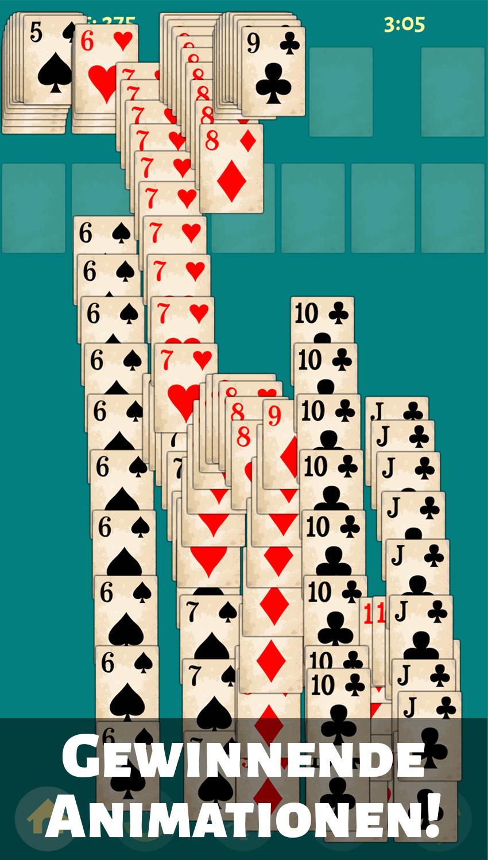 карточная игра пасьянс солитер бесплатно
