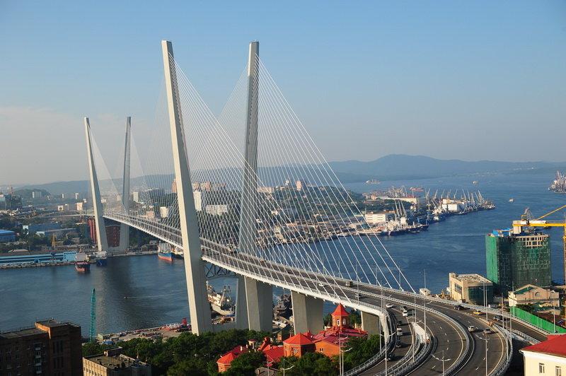 Поздравлением, картинка владивосток мост