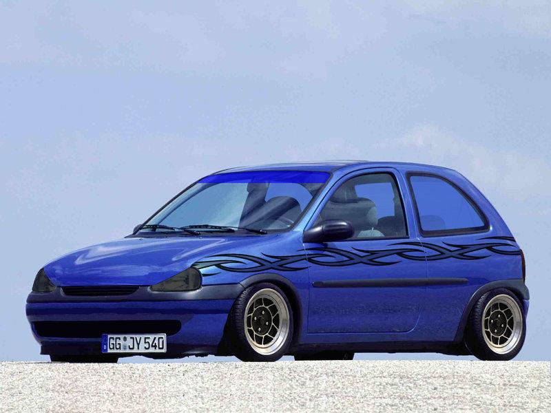 Opel Corsa B производился с 1992 по 2000 годы