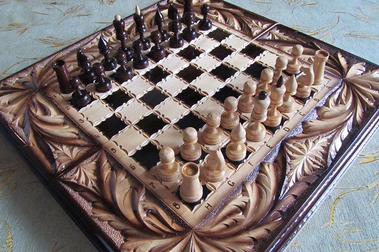 Изготовление шахмат и нард на ЧПУ станках