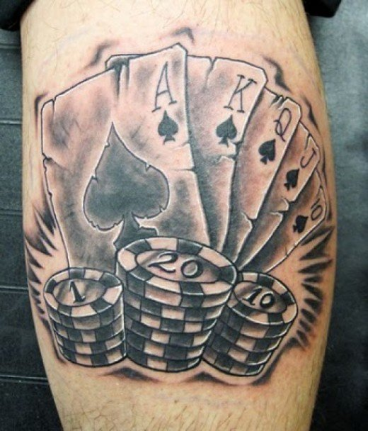 Татуировка фишка казино top 10 uk casino online