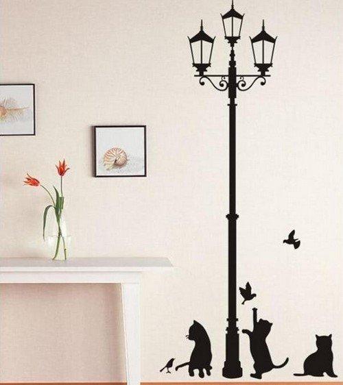 Украсить стены своими руками в спальне