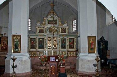 церковь рождества богородицы гродно внутри