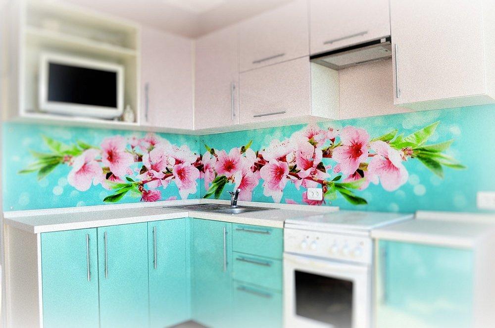 фартуки для кухни стекло с фотопечатью правильном выборе таких