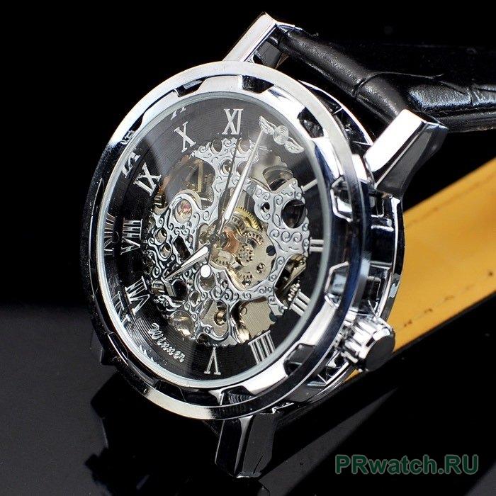 «Часы Winner Skeleton Luxury в Вятских. Механические часы с автоподзаводом  со Официальный сайт 📌 http   bit.ly 2R2L6YF Особенности  Эксклюзивный  дизайн ... 39f5b7aeba2