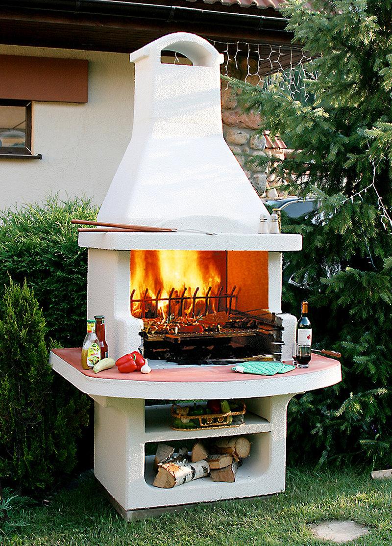 Печи барбекю фото купить чугунный дровяной камин