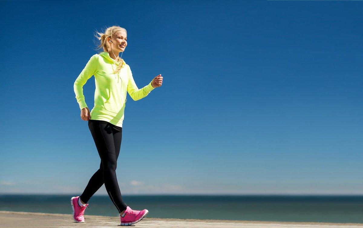 польза ходьбы пешком для похудения
