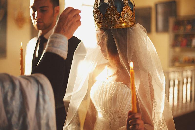 Правила поведения во время венчания