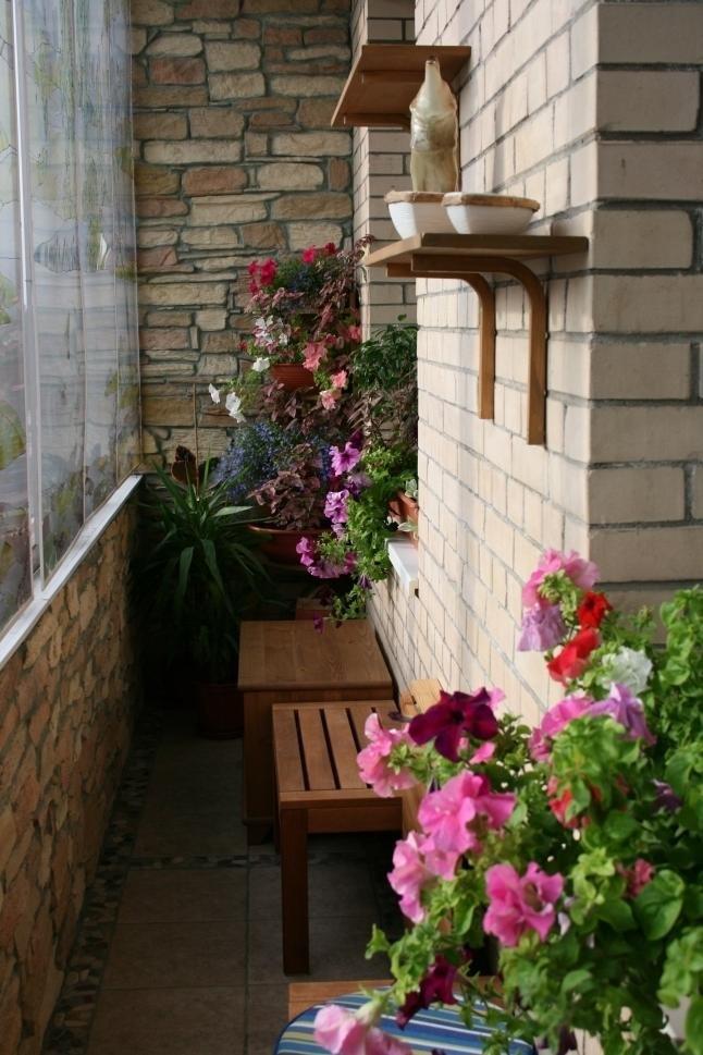 Отделка и дизайн маленького балкона. принципы дизайна балкон.