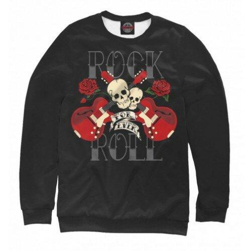Мужской свитшот 3D Rock-n-Roll