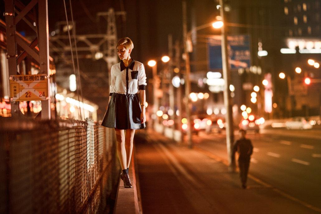 твиттере сюжетная фотосессия по ночному городу вариант