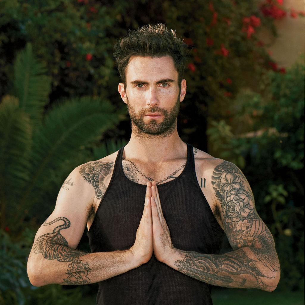 adam levine tattoos - 736×736