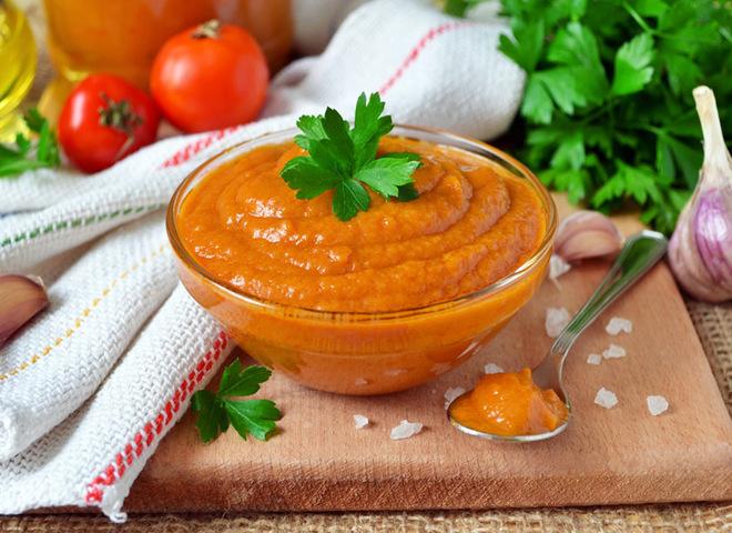 кабачковая икра с томатом на зиму рецепт с фото