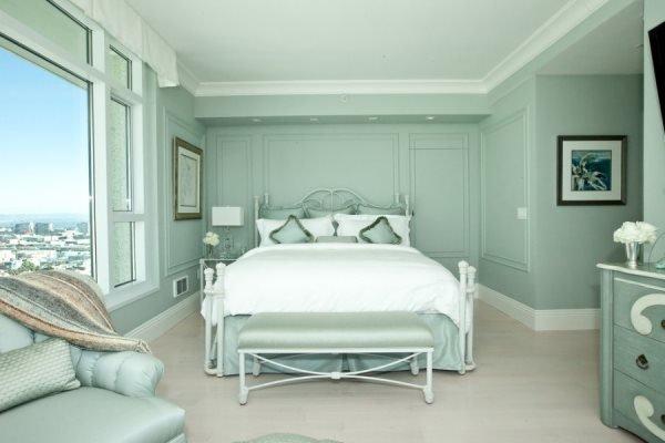 спальня, успокаивающая настроение