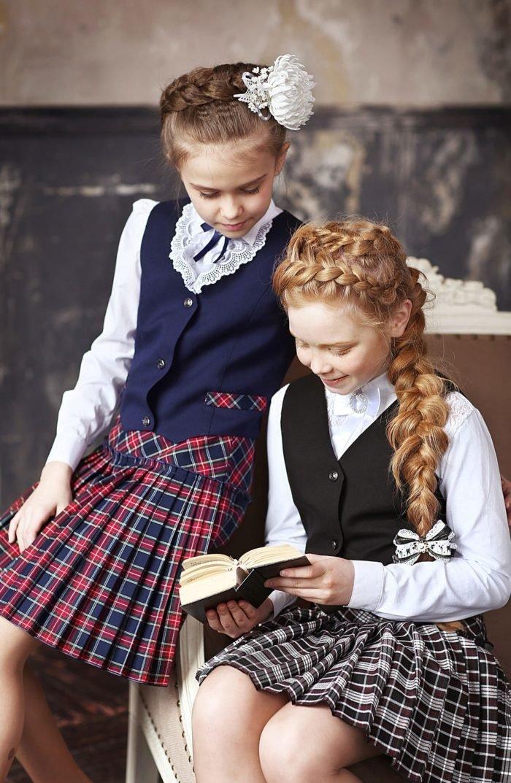 Одежда для девочек в школу