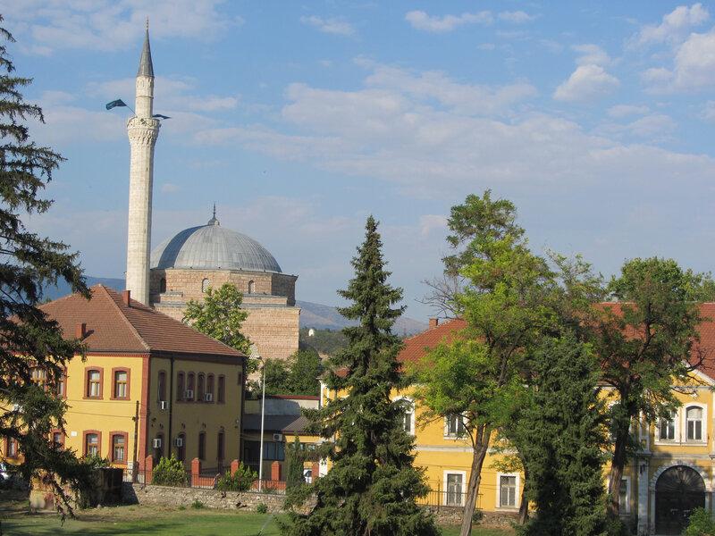 Вид мечеть Мустафы-паши