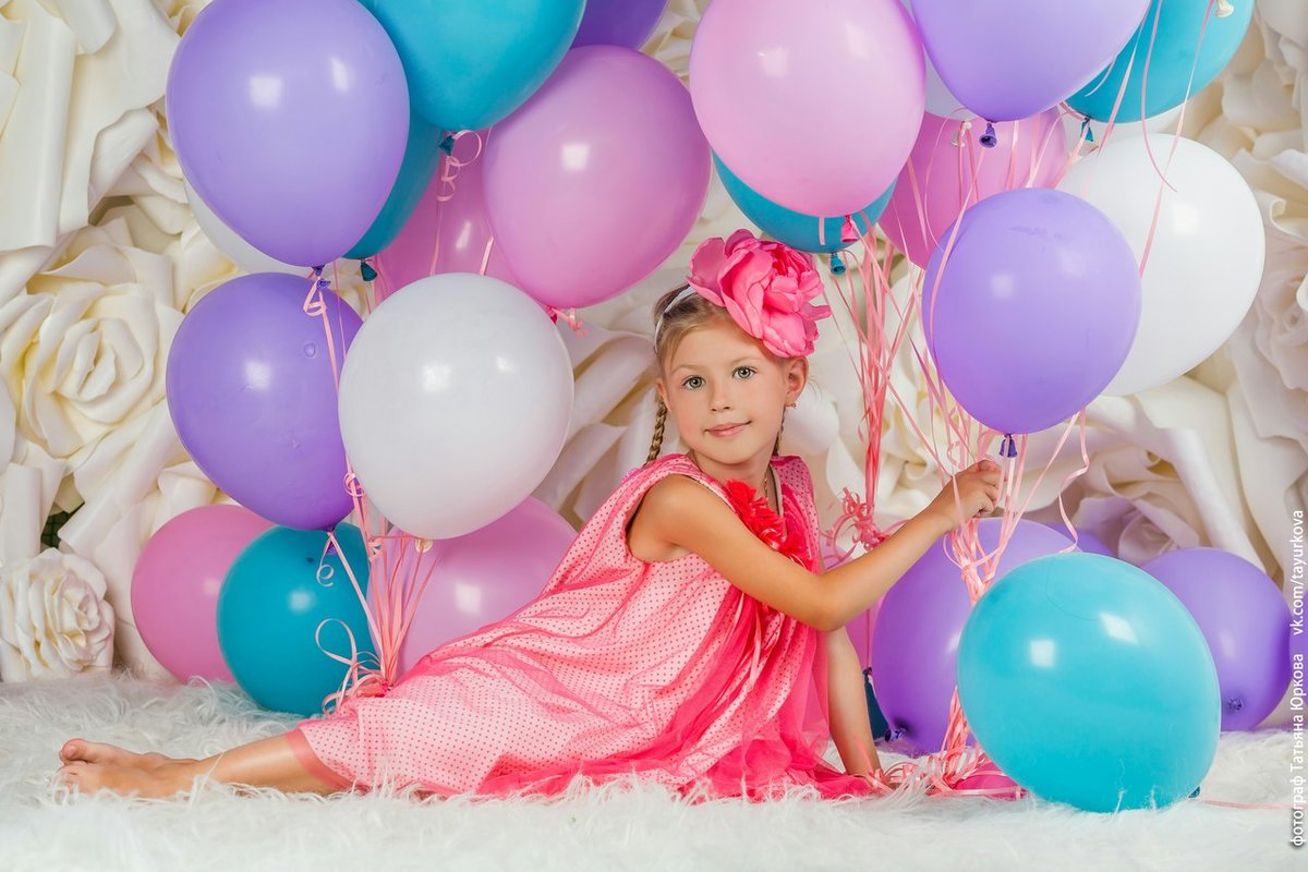 ромашково фотосессия с шарами воздушными дома можете легкостью порадовать