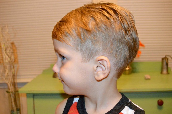 стрижки для мальчика 11 месяцев тех вариантах