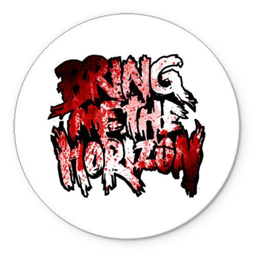Коврик круглый Bring me the horizon blood in (8)
