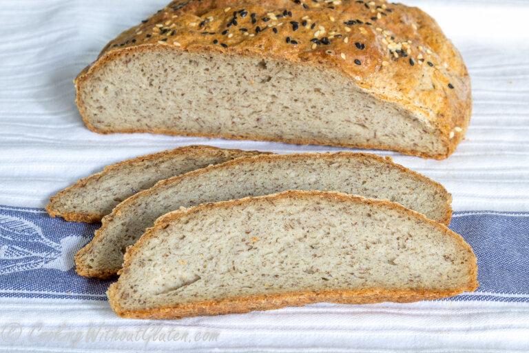 и в цельнозерновой хлеба кукурузной из хлебопечке муки Рецепт