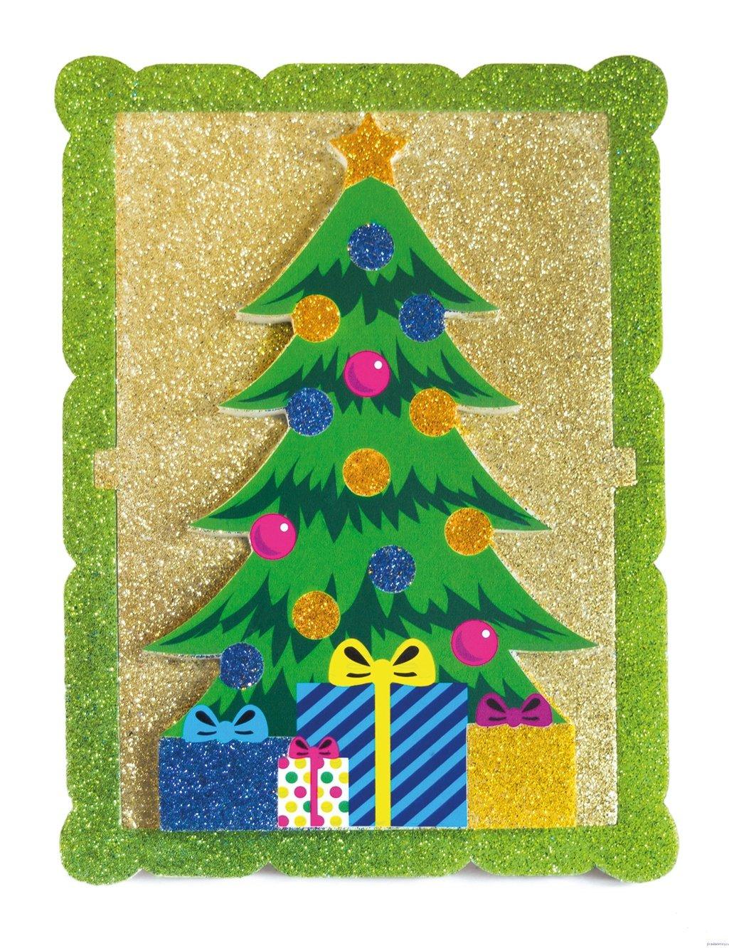 картинка аппликация елка новогодняя чем смысл бойлера