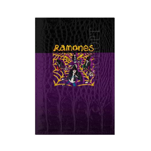 Обложка для паспорта кожа крокодил Ramones 4
