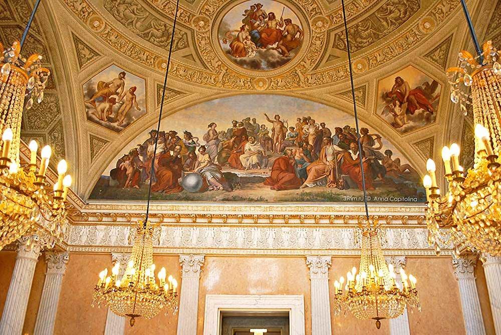 Villa torlonia casino nobile