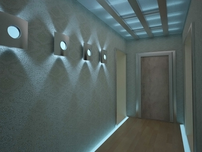 блокировки светильники для подсветки пола в коридоре базе