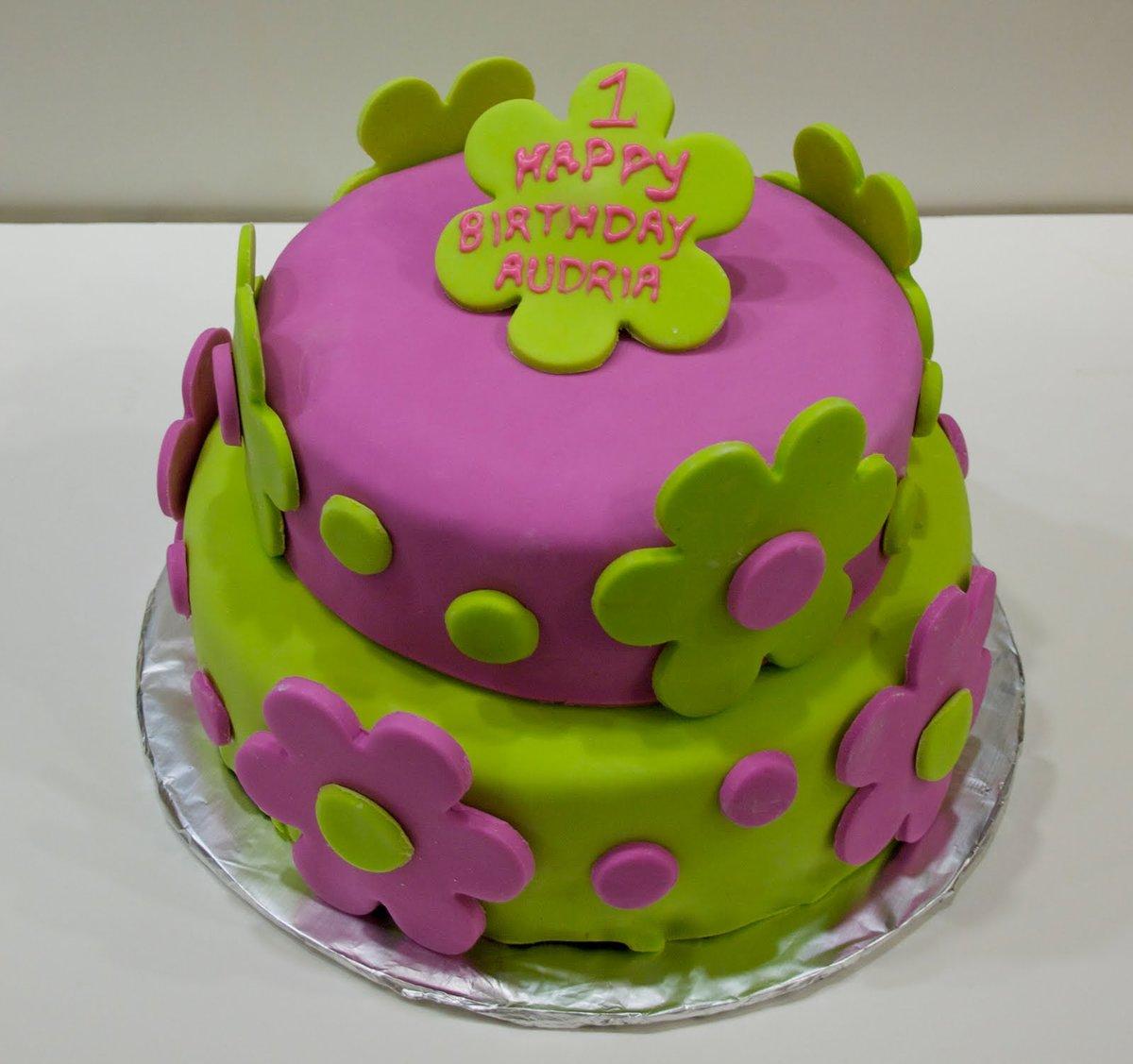 торт з мастики на день народження фото нашей