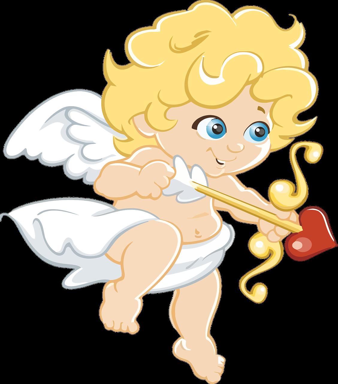 Картинки любовных ангелочков