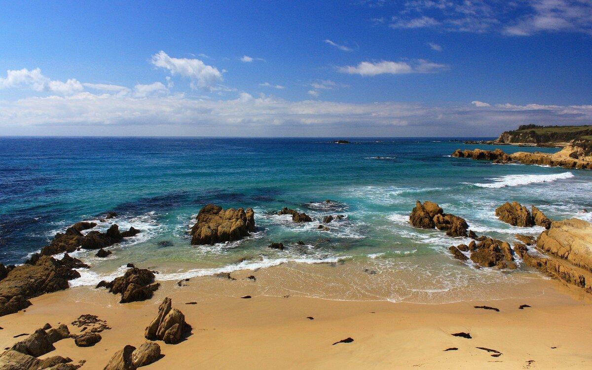 Фото с берегом моря