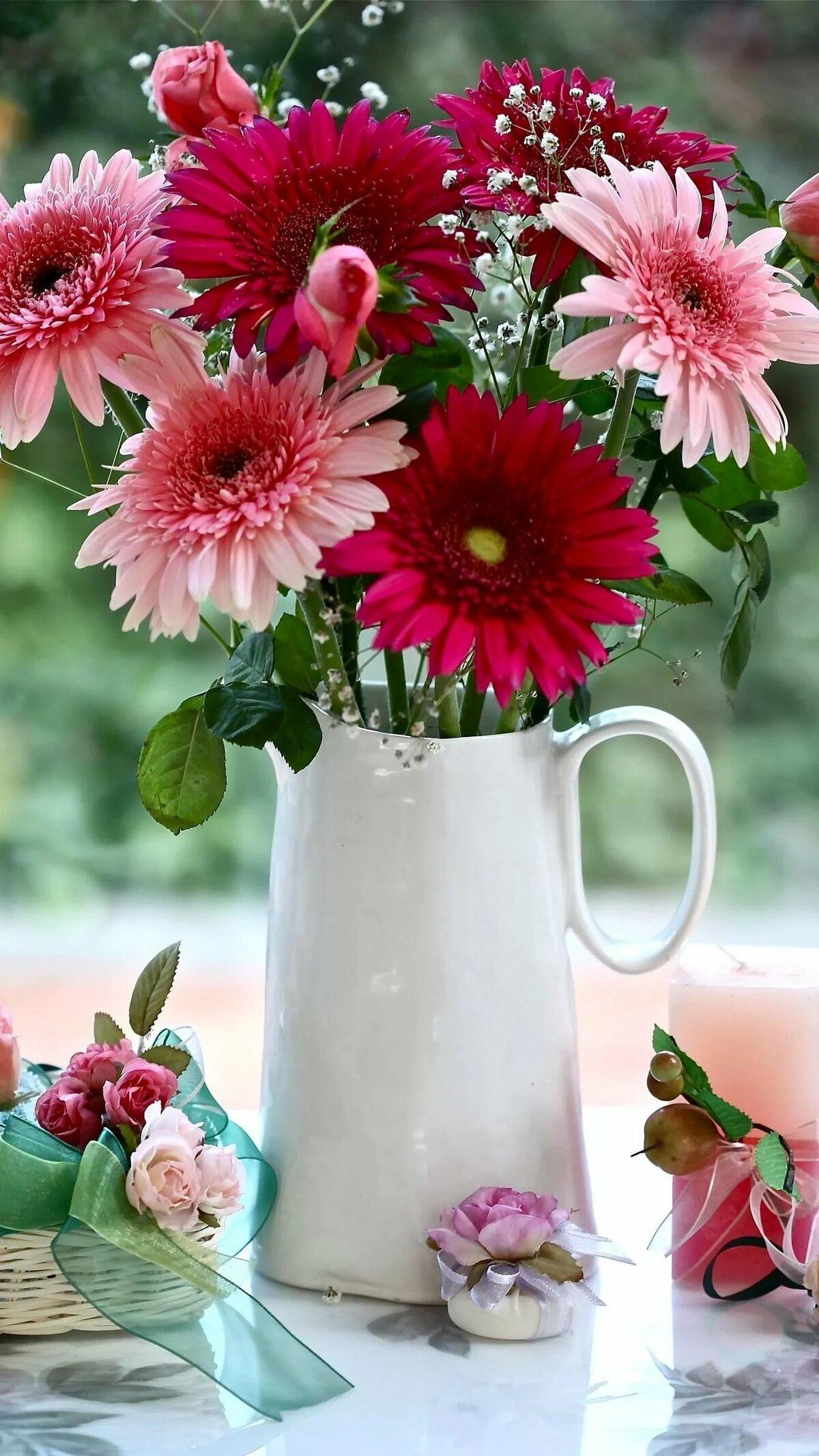 национальная картинка вертикальная цветы доброе утро интересное, что изначально