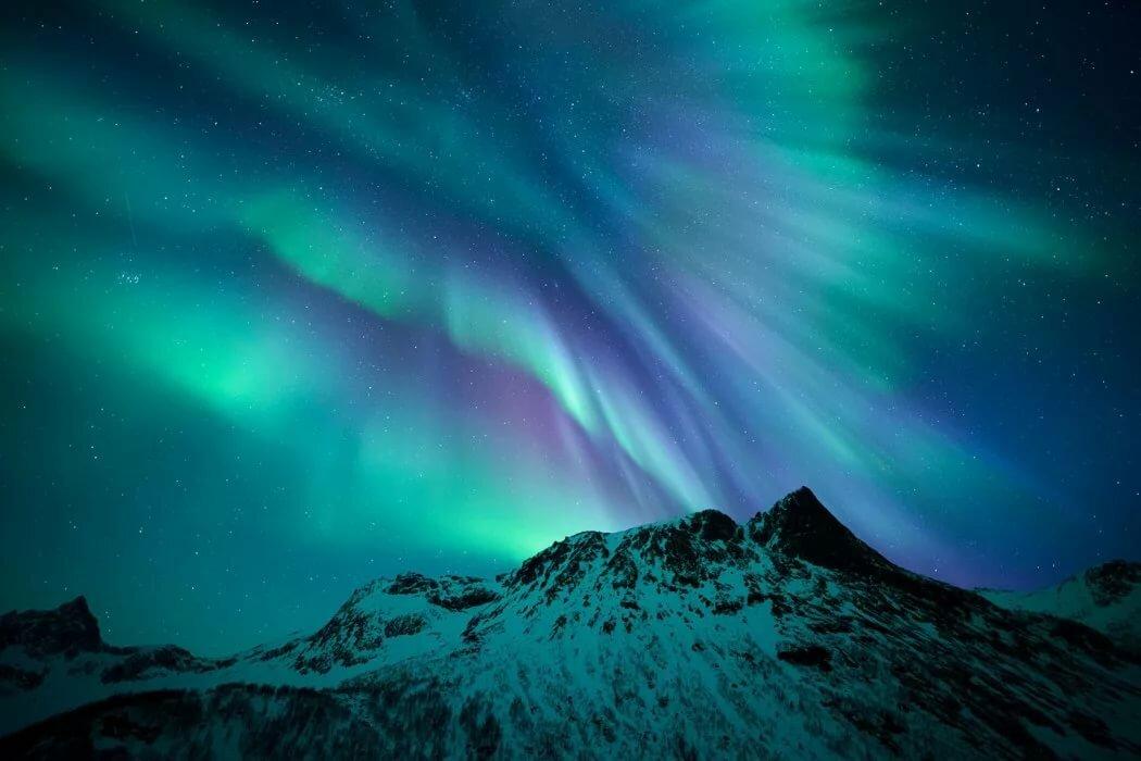 Свечение атмосферы фото