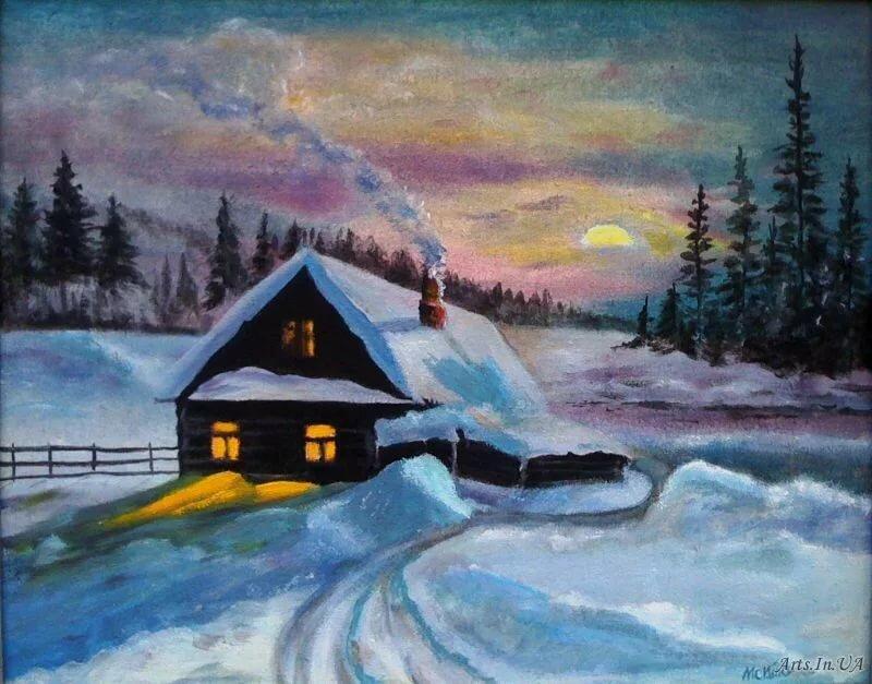 картина ночь перед рождеством сайрус откровенный