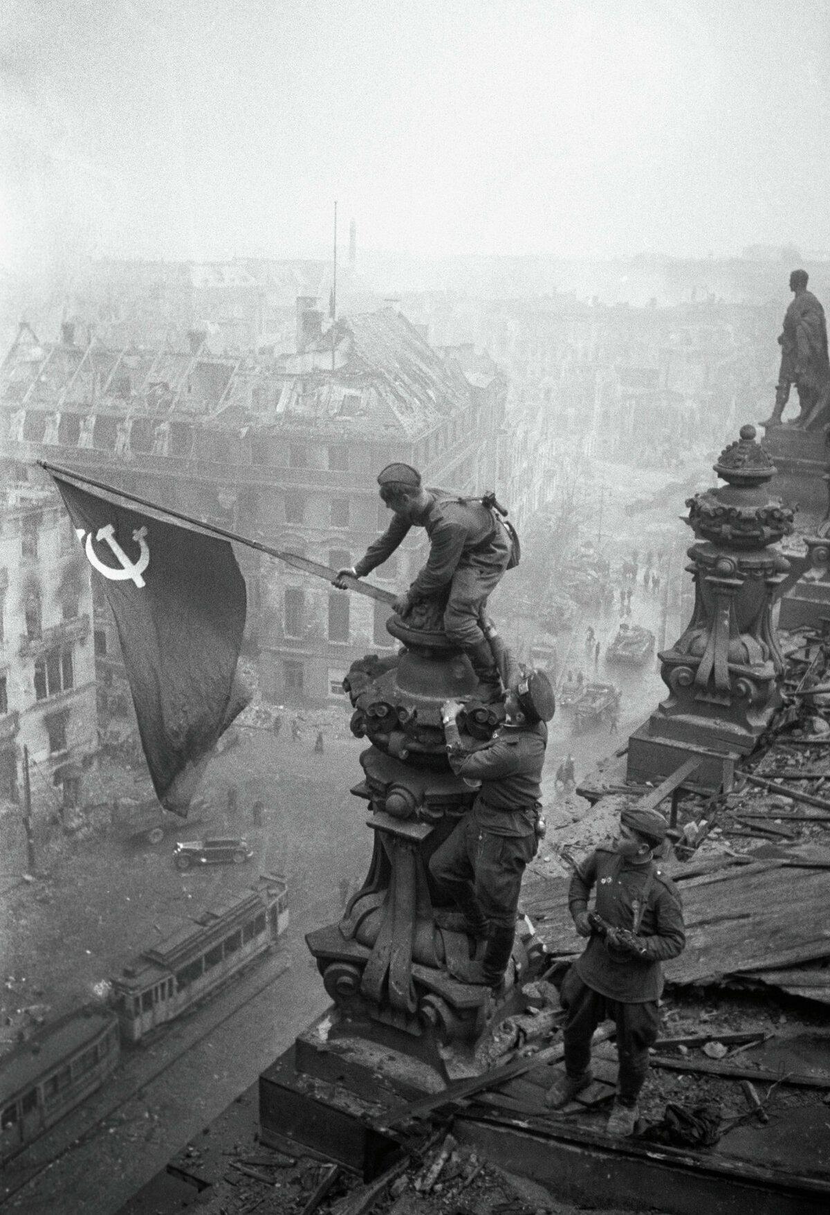 знамя победы вов фото праздник