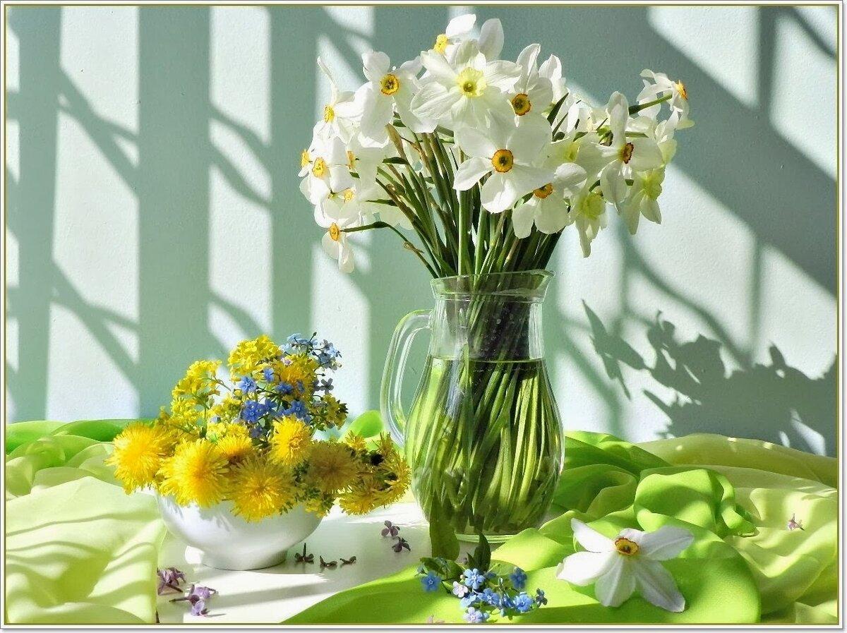 Открытки с добрым днем при цветах