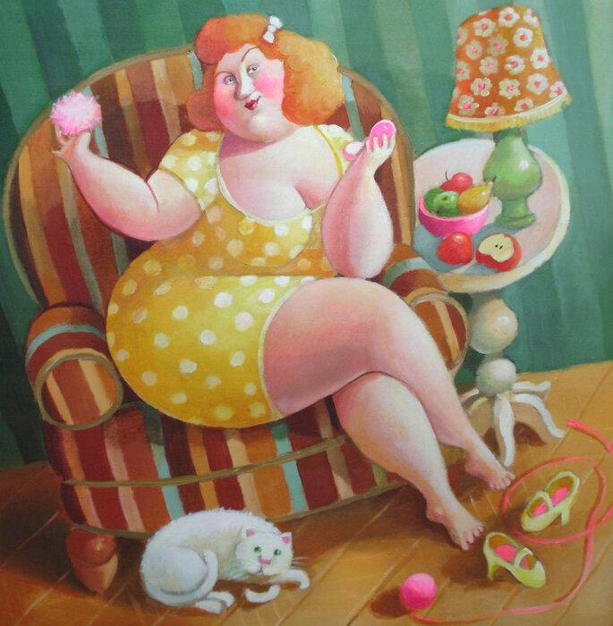Смешные картинки с толстым