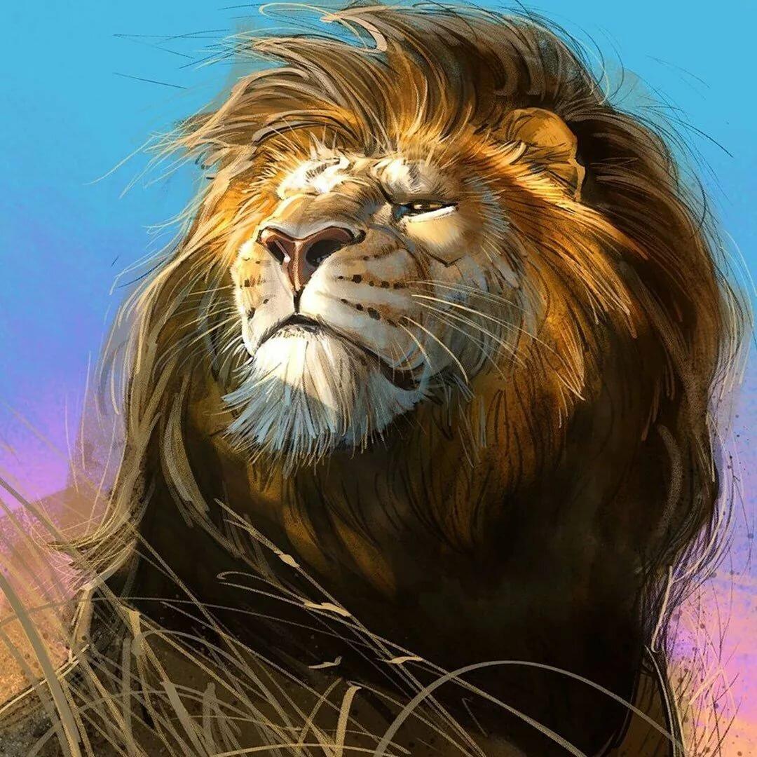 Львы картинки на аватарку