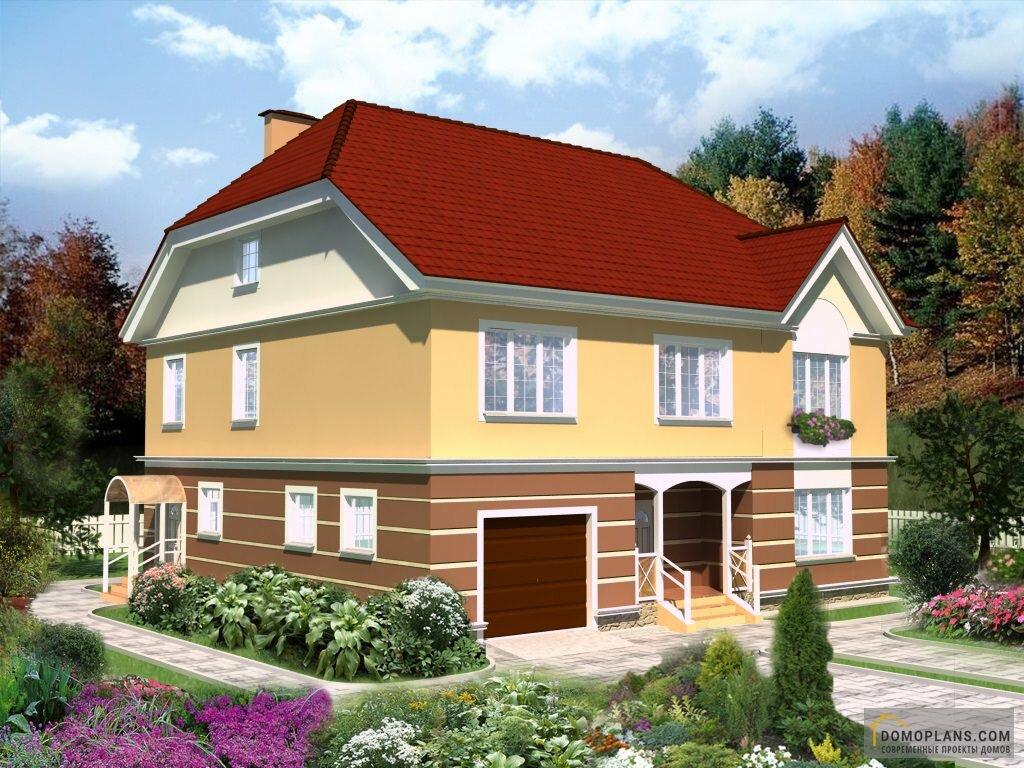 Проект жилой дом фото пружина поджимается