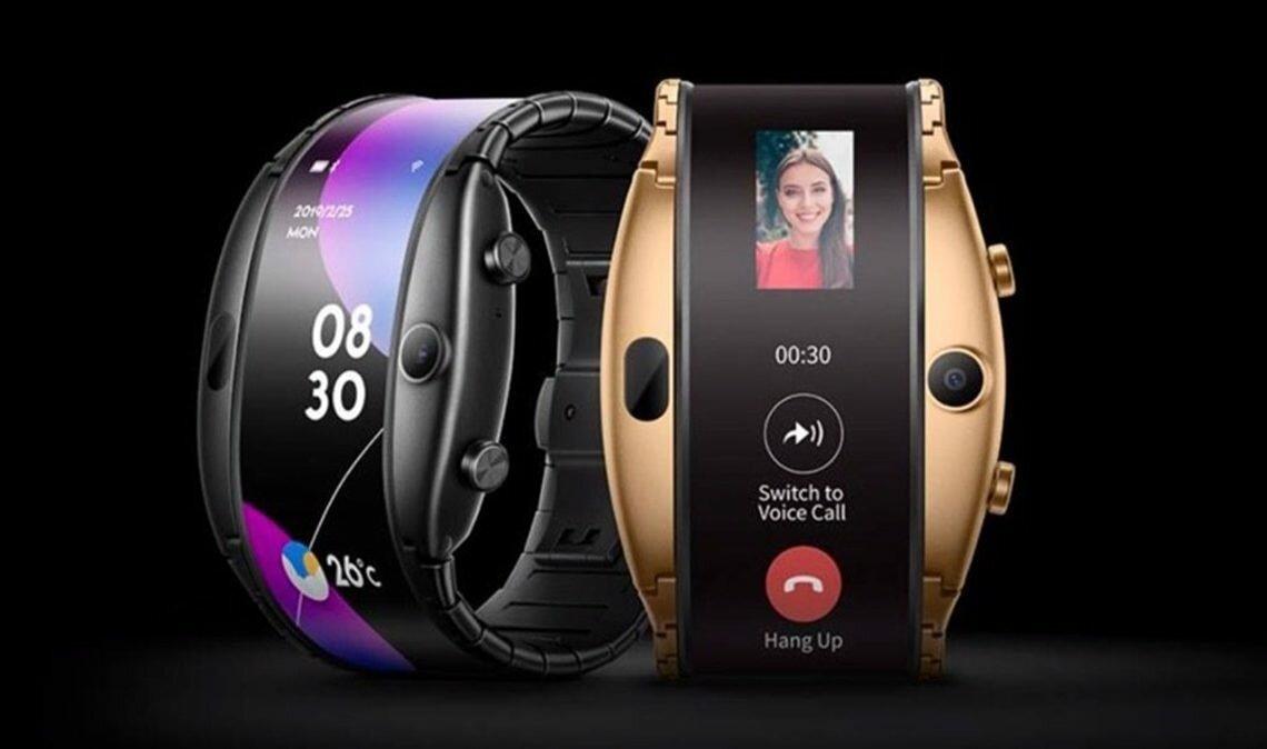 Часы смартфон ZTE NUBIA ALPHA с OLED-дисплеем в Тобольске
